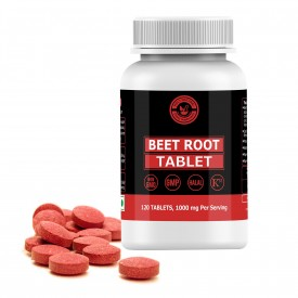 BeetRoot Tablet –1000mg Per Serving, 120 Tablet, 100% Pure and Natural – Dietary Supplement