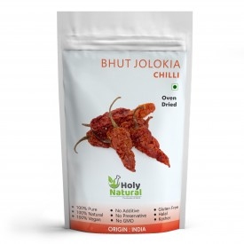 Bhut Jolokia Chilli (Oven Dried)