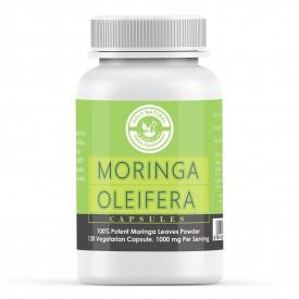 Moringa Oleifera - 120 Veggie Capsules