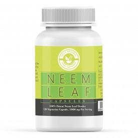 Neem Powder - 120 Veggie Capsule