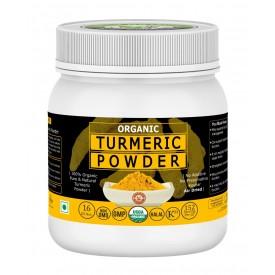 Organic Turmeric Powder (Curcuma Longa), USDA Certified I 100% Pure & Natural I Many Benefits with Delicious Foods & Spices I Many Health Benefits I RAW, NO PRESERVATIVE, NON GMO