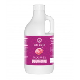 Rose Water (1000ml) for Face & Hair Toner, Alcohol & Preservative Free