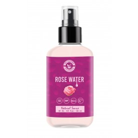Rose Water (300ml) for Face & Hair Toner, Alcohol & Preservative Free