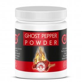 Smoked, Ghost Chili Pepper Powder (Bhut Jolokia)