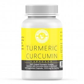 Turmeric Curcumin  - 120 Veggie Capsules