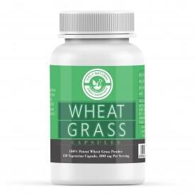 Wheat Grass Capsule - 120 Veggie Capsule